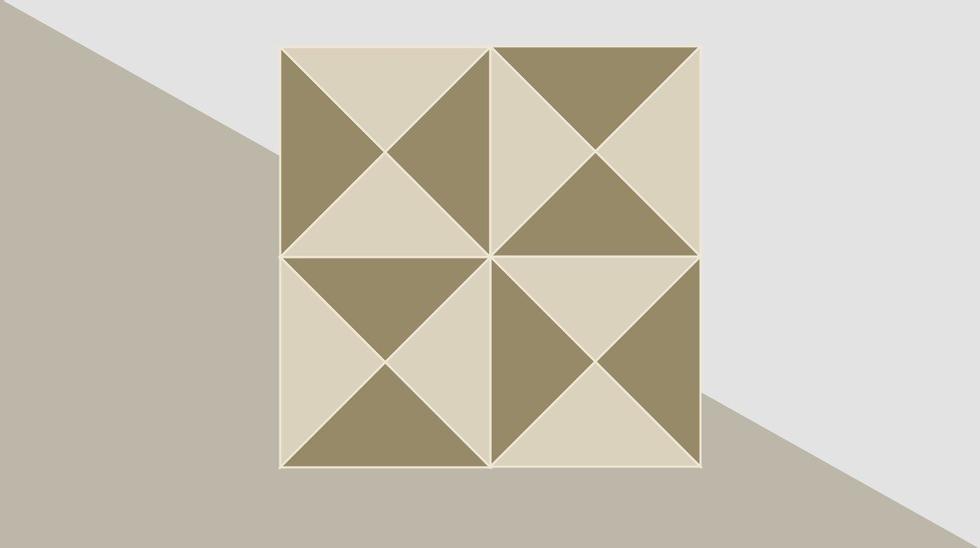 Hvor mange triangler er det i dette bildet?