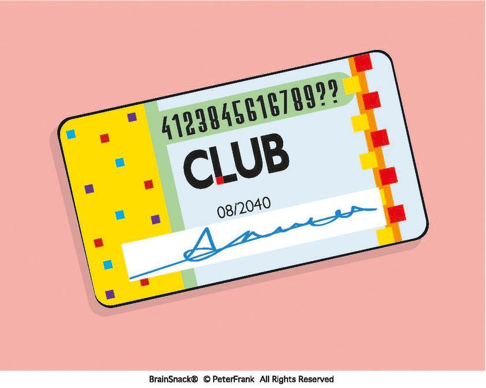 Hvilke to tall mangler på medlemskortet?