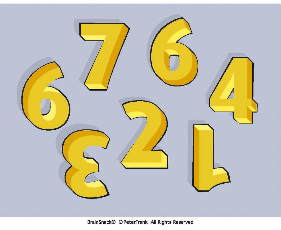 Hvilket tall er plassert feil i forhold til logikken de andre tallene følger?
