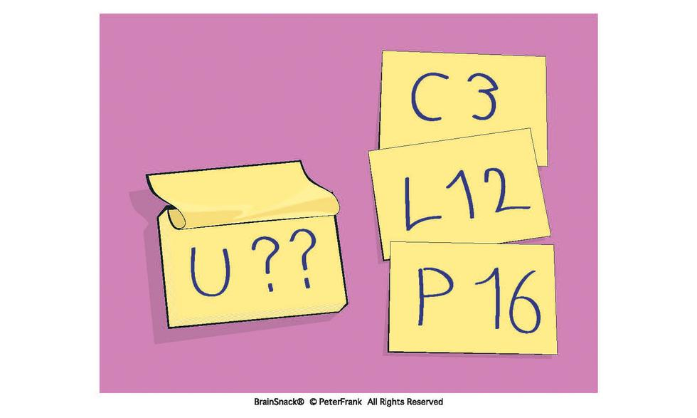 Hvilket tall erstatter spørsmålstegnet?
