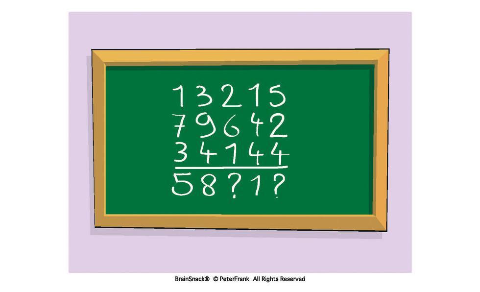 Fullfør regnestykket