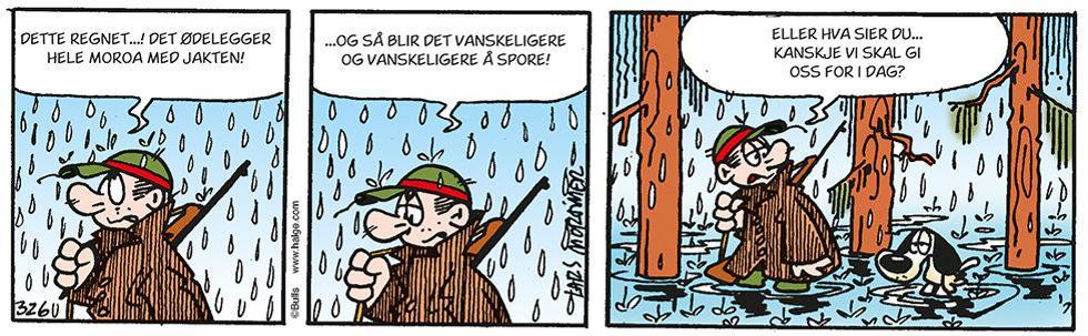 Helge - når regnet ødelegger jaktstemningen