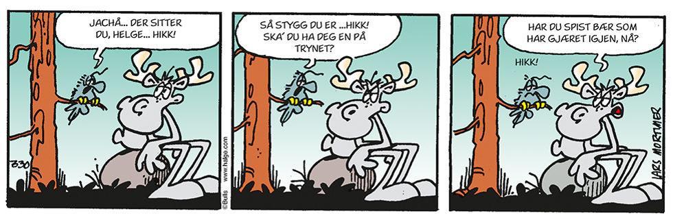 Helge - kranglefant