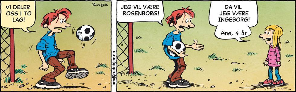 Barnas Planet - Rosenborg mot Ingeborg