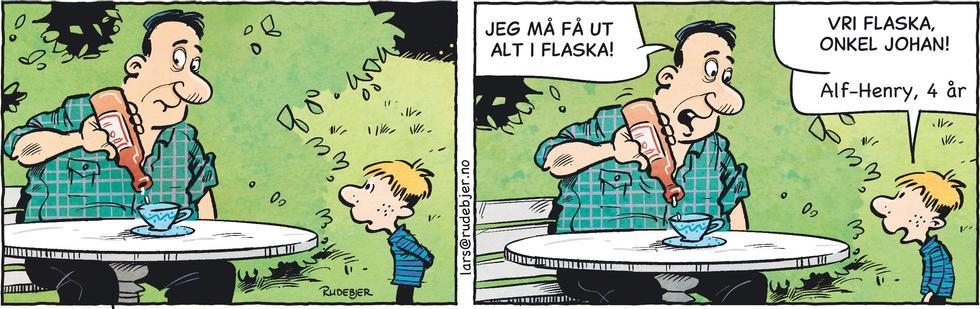 Barnas Planet - Vri flaska, onkel Johan!