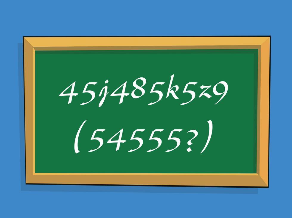 Hvilket tall skal erstatte spørsmålstegnet?