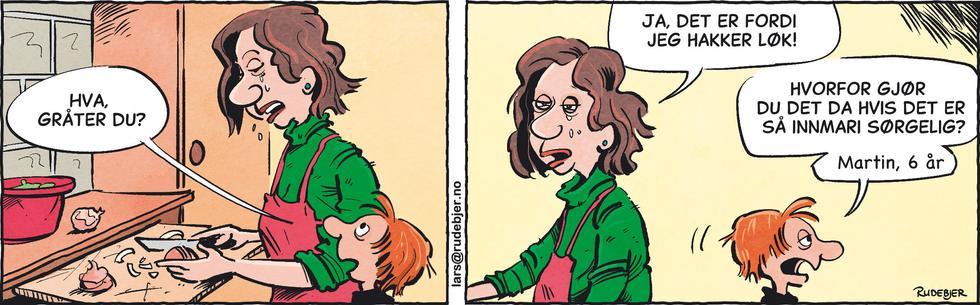 Barnas Planet - Hvorfor gråter du mamma?