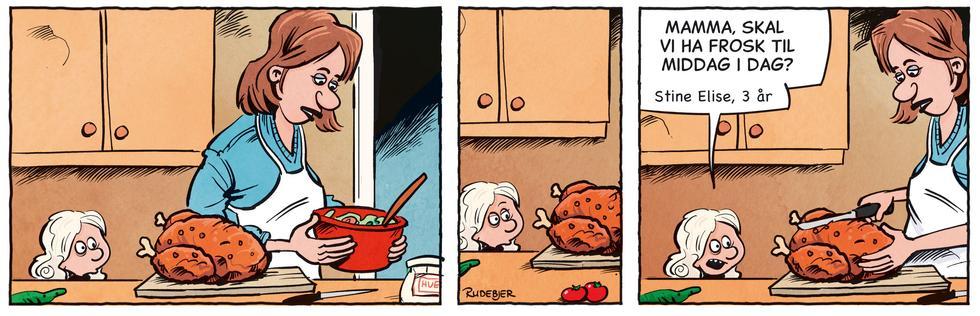 Barnas Planet - Frosk til middag