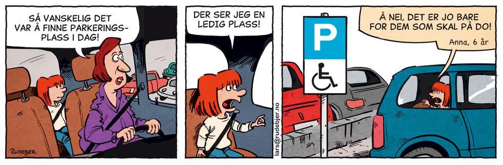 Barnas Planet - Rar parkering