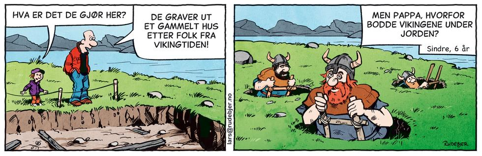Barnas Planet - Vikinger under jorda