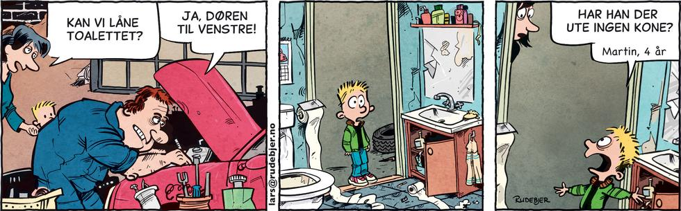 Barnas Planet - Å låne toalettet