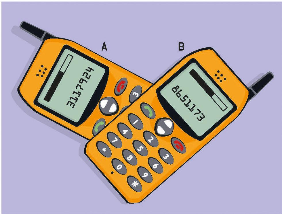 Hvilket nummer har mobileieren slått?