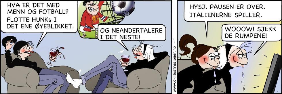 Singelliv - Fotball og neandertalere