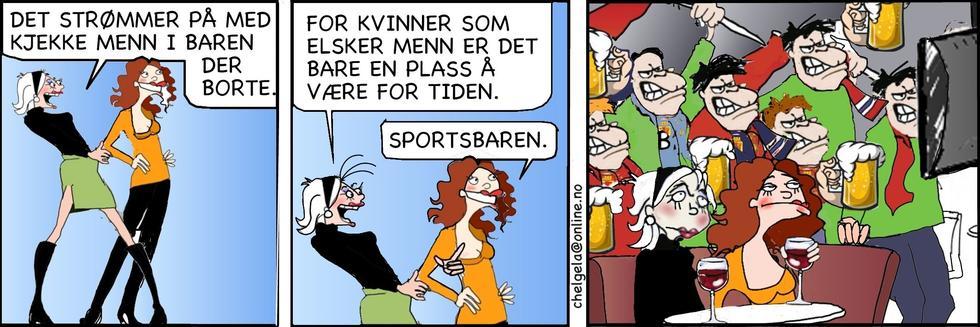 Singelliv - Sportsbaren