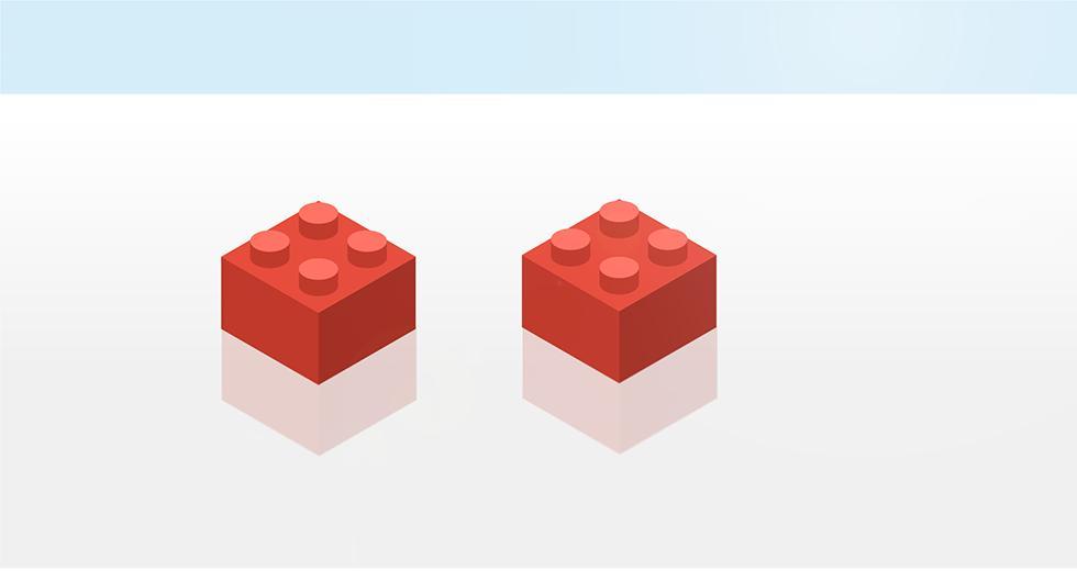 Legoklossene - Hvor mange måter kan de kobles sammen på?