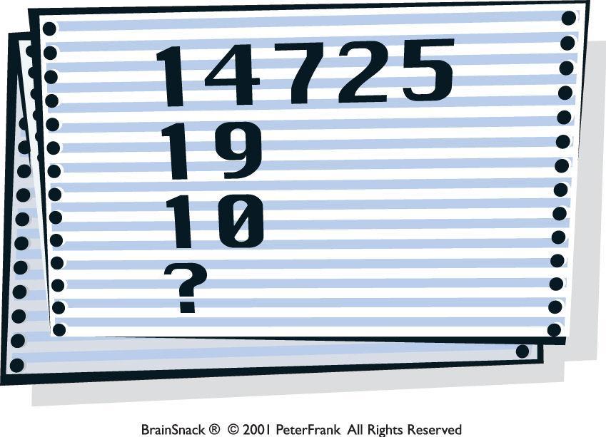 Klarer du å finne tallet?