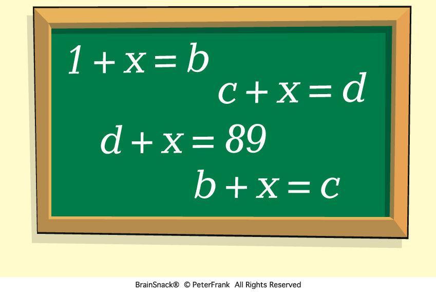 Hvor mye er X?