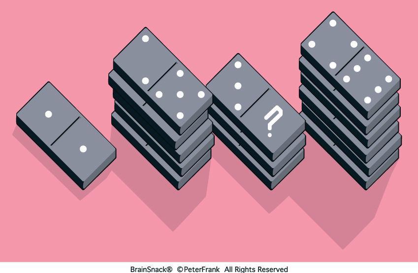 Klarer du denne domino-gåten?