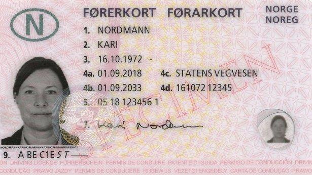 nye krav til førerkort